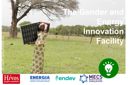 Webinar:  Call for Proposals on Gender and Energy Innovation in Tanzania