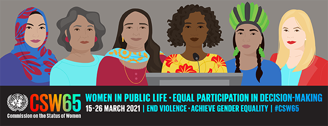 Empowering Women in STEM – @CSW65 20 March 2021