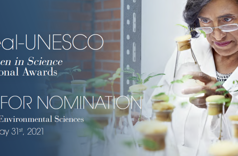 International Awards in Life and Environmental sciences – 2022 Call for nomination