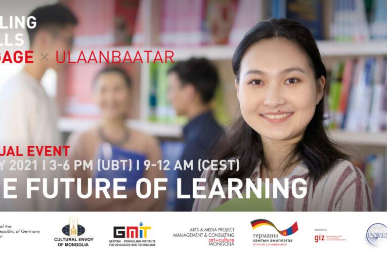 Falling Walls EngageX Ulaanbaatar – The Future of Learning – 7 May 2021