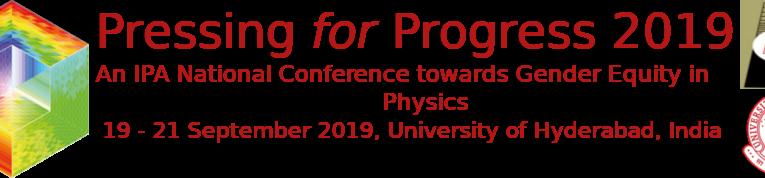 Pressing for Progress 2019