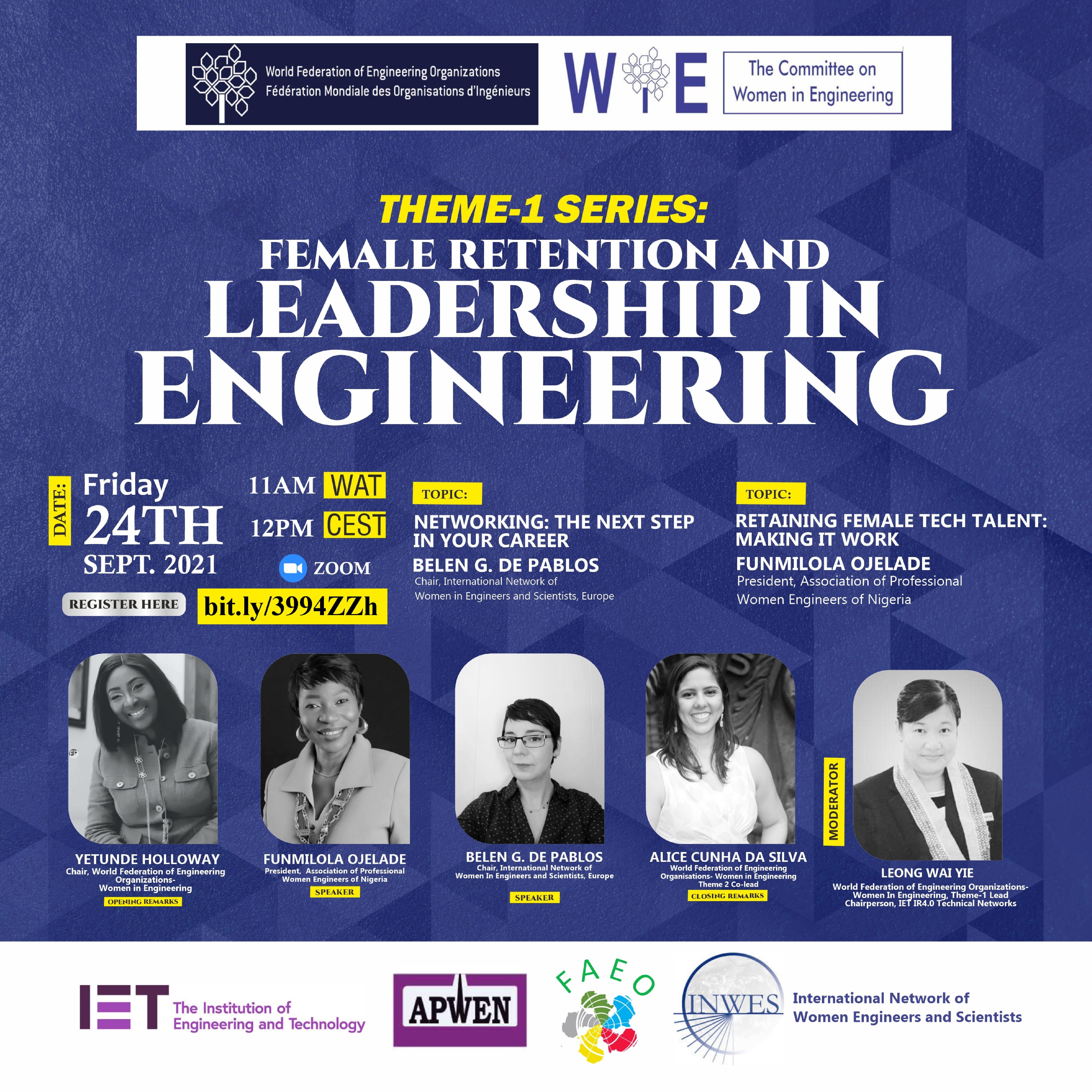 WFEO WIE(Committee on Women in Engineering) Webinar