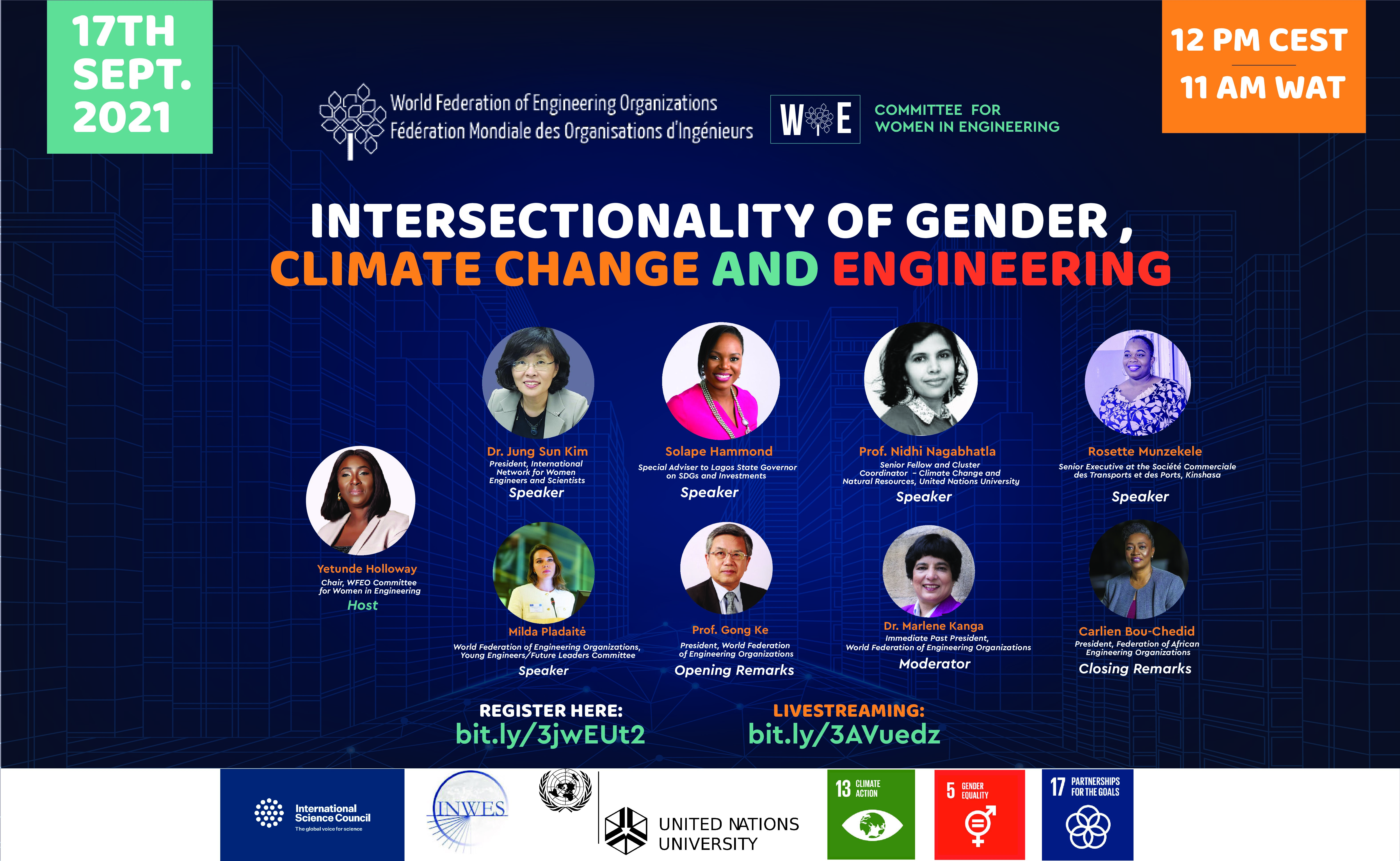 The webinar on Women and Climate Change